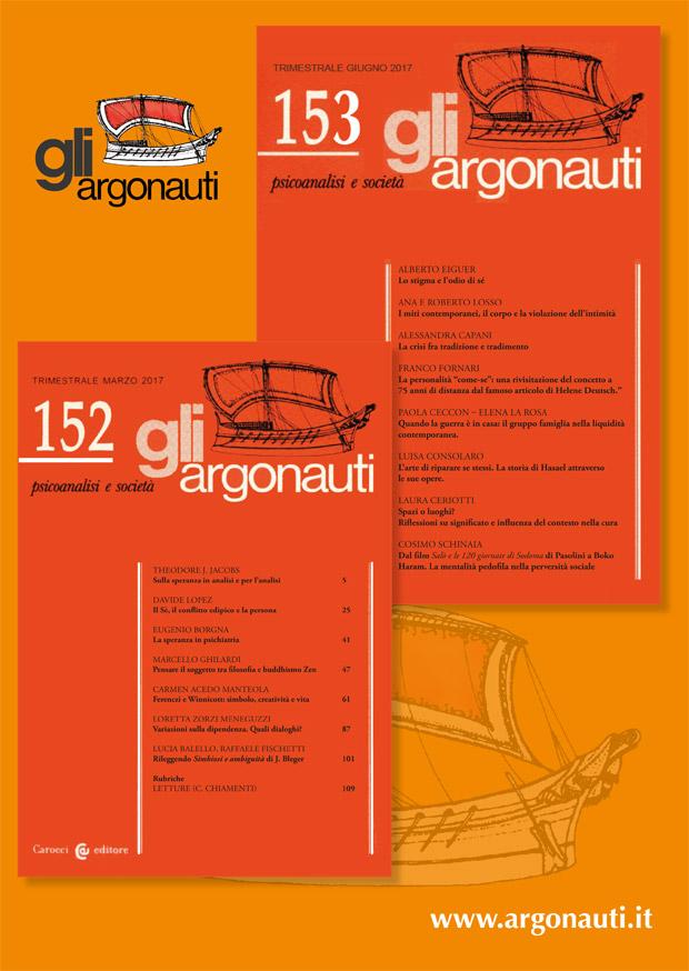 Abbonamenti riviste gli argonauti. Copertine rivista