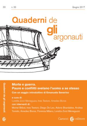 Quaderni de glli Argonauti N° 33 Giugno 2017