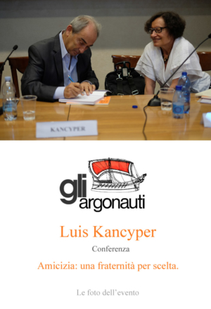 Foto conferenza Luis Kancyper per Argonauti. Padova, 30 Maggio 2017