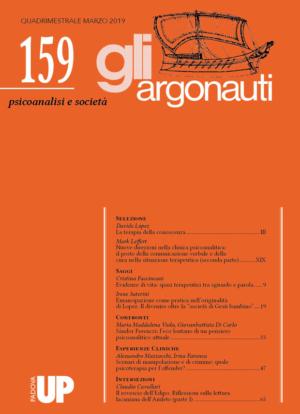 Abstract N° 159 - Copertina rivista Argonauti N° 159 Aprile 2019