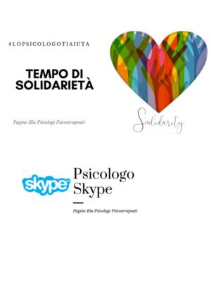 #lopsicologotiauta. Progetto solidarietà Psicologi Pagine Blu per il coronavirus